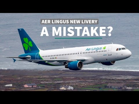 Is Aer Lingus New Livery a Mistake?