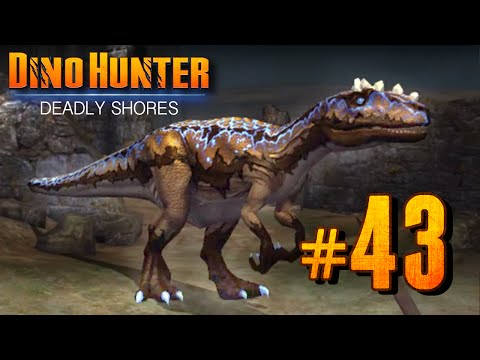 Electric Sinraptor - Dino Hunter: Deadly Shores EP: 43 HD