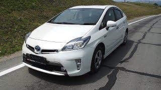 Toyota Prius PHV - Редкий Приус, подзаряжаемый от розетки