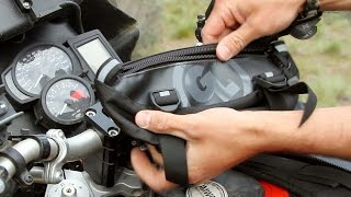 Giant Loop Zigzag Handlebar Bag Review | Motorcycle Superstore