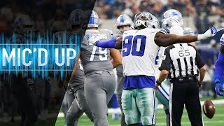 "Demarcus Lawrence Mic'd Up vs. Lions ""We EAT Lions, Tigers, Bears We Dont Care!"" 