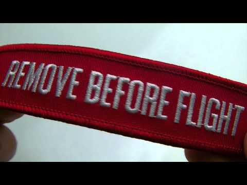 Remove Before Flight KeyChain Review