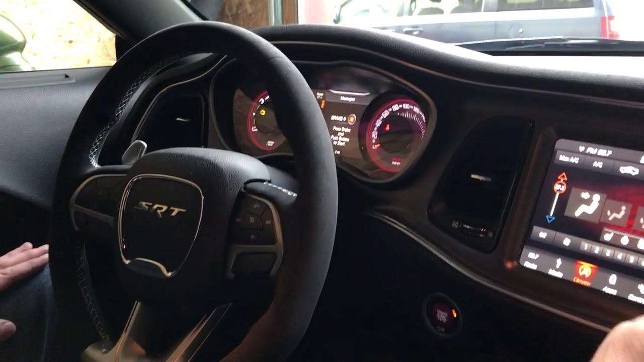 2018 Dodge Challenger >> 2018 Dodge Demon interior Extreme Dodge - YouTube