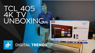 TCL S405 4K TV Unboxing