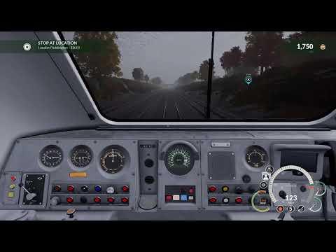 Train Sim World : Class 43 HST Newbury to London Paddington Cab Ride
