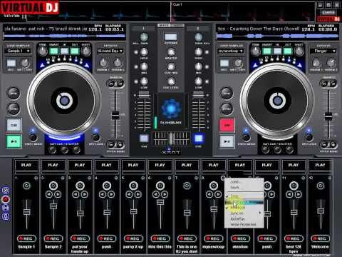 skin virtual dj dn-s3500 suggestion