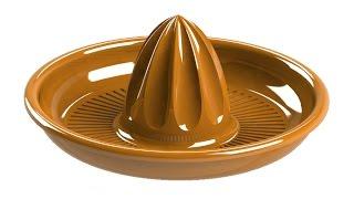 SolidWorks Tutorial #236: citrus juicer (advanced cut, spline on surface)