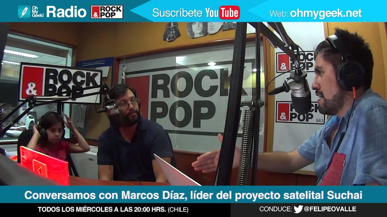 OMG! Radio: Entrevista con Marcos Díaz, líder del proyecto SUCHAI ...