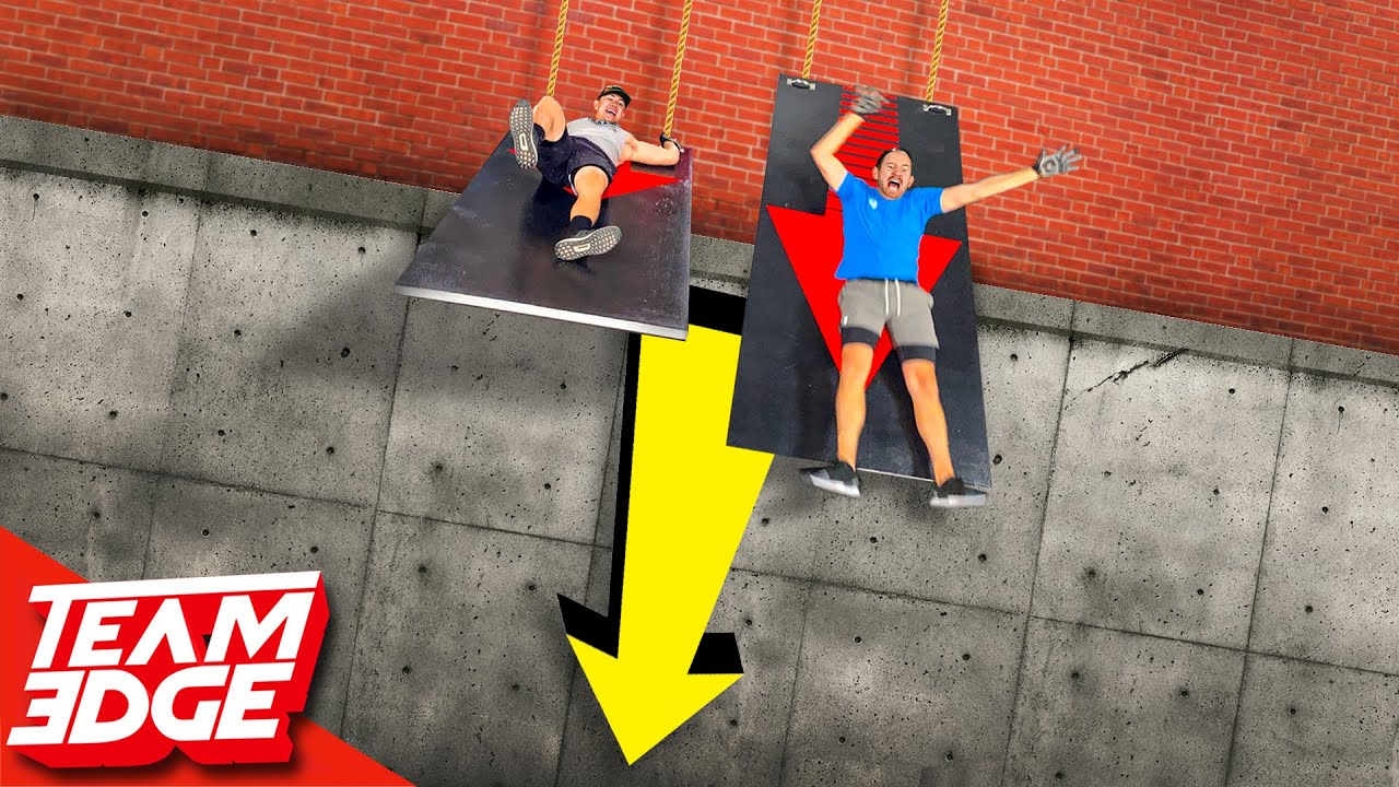 Don't Get Dumped Off the Ledge! | Extreme Trivia Challenge!
