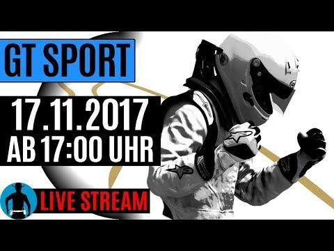 LIVE am 17.11.2017 ab 17:00 Uhr: Gran Turismo Sport Gameplay [deutsch] [PS4]