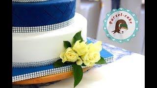 Unsere Hochzeitstorte/Weddingcake/von Purzel-cake