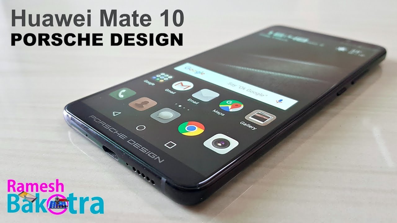 8868e1adc60c Huawei Mate 10 PORSCHE DESIGN Unboxing and Full Review - YouTube