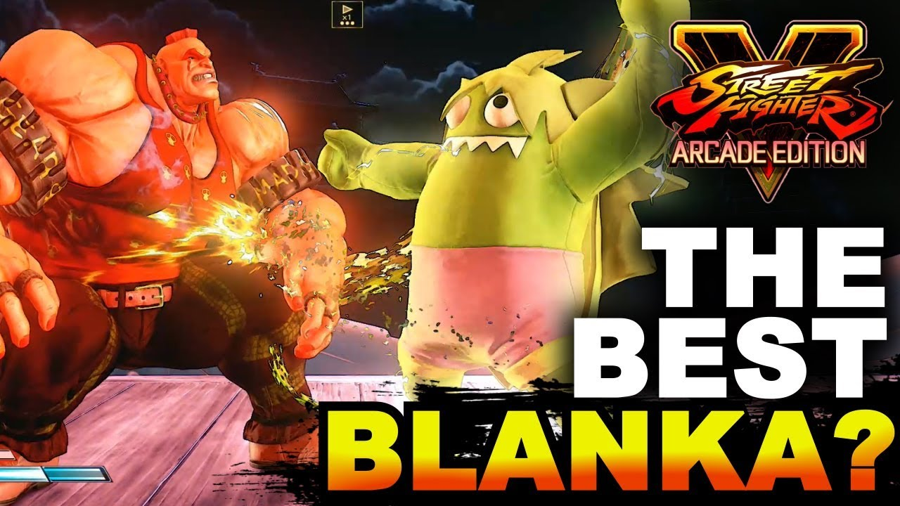 how to play blanka sfv