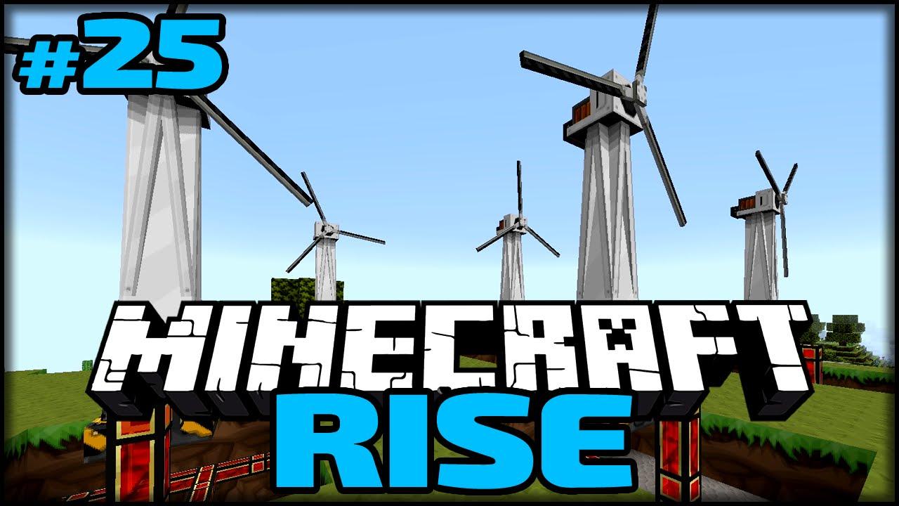 Der Windpark Minecraft Rise 25 Youtube