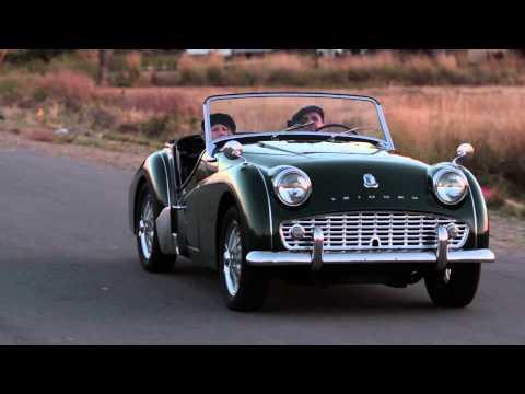 1960 Triumph TR3 A (Montage)