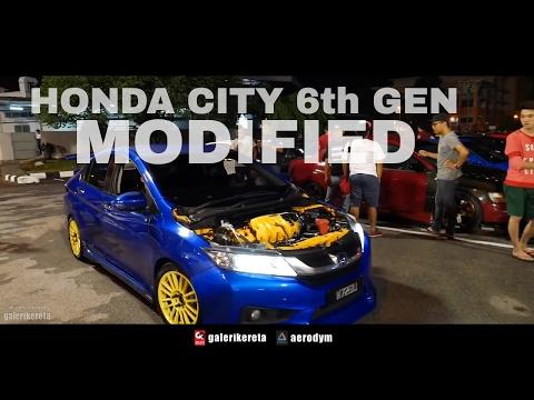 Honda City 2017 Modified Gen 6 - XO AutoSport Street Style in Malaysia