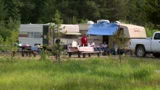 Silver Creek Campground on the Boise National Forest in Idaho