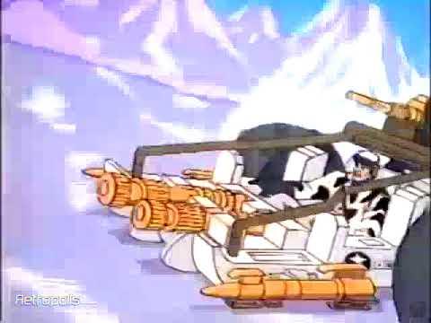 GI Joe 1989 ARCTIC BLAST Missile