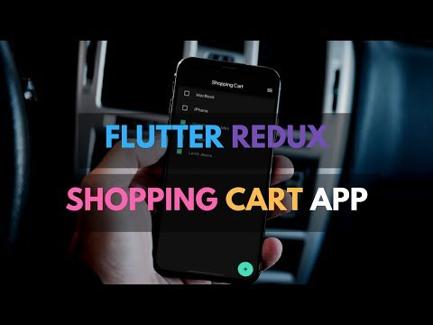 Flutter Redux: Shopping Cart App From Scratch | Redux Time Travel