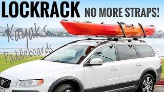 LockRack - NO STRAPS NEEDED - fits kayaks & paddle boards