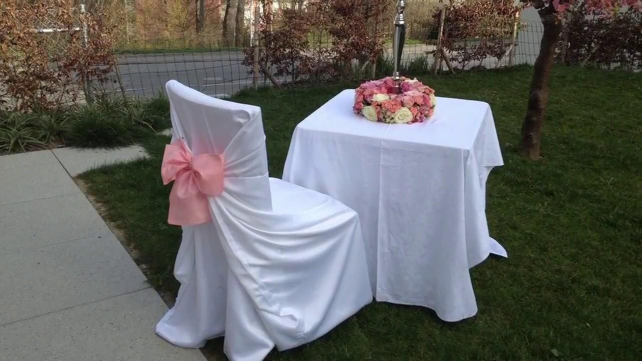 Hochzeitsdekoration Raumgestaltung  Hochzeit