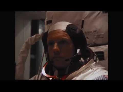 MSC (AV) - Astronaut Armstrong in Vacuum Chamber B