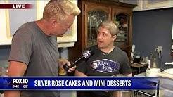 Wedding Cakes & Desserts - Fox 10 Phoenix, Arizona with Silver Rose Bakery