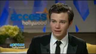2011 Golden Globes: Backstage With 'Glee's' Chris Colfer