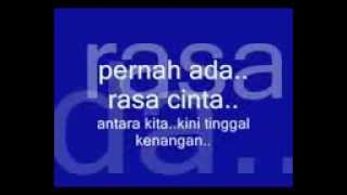 Tinggal Kenangan - Caramel Band.(Lyrics)