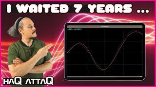 The Oscilloscope app I always really wanted   haQ attaQ
