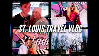 St. Louis Travel Vlog (Seeing the St. Louis Blues, the Arch, and so much more!!)