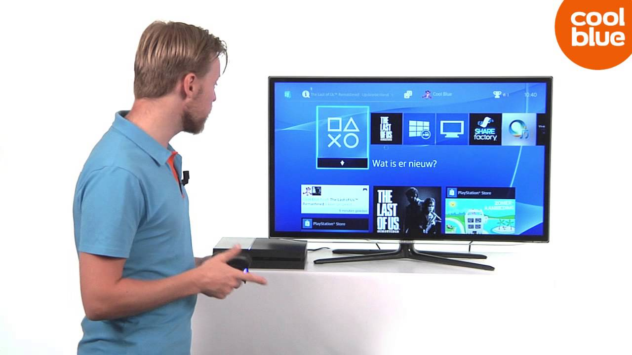how to connect playstation 4 to tv