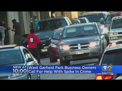 Businesses On Edge With Rise In Crime, Open-Air Drug Dealing In West Garfield Park