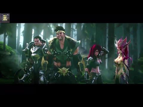 Hoạt hình LOL - Trận chiến vĩ đại nhất Noxus vs Demacia (Phần 1)