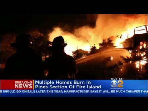 Fire In Pines Section Of Fire Island Now Under Control