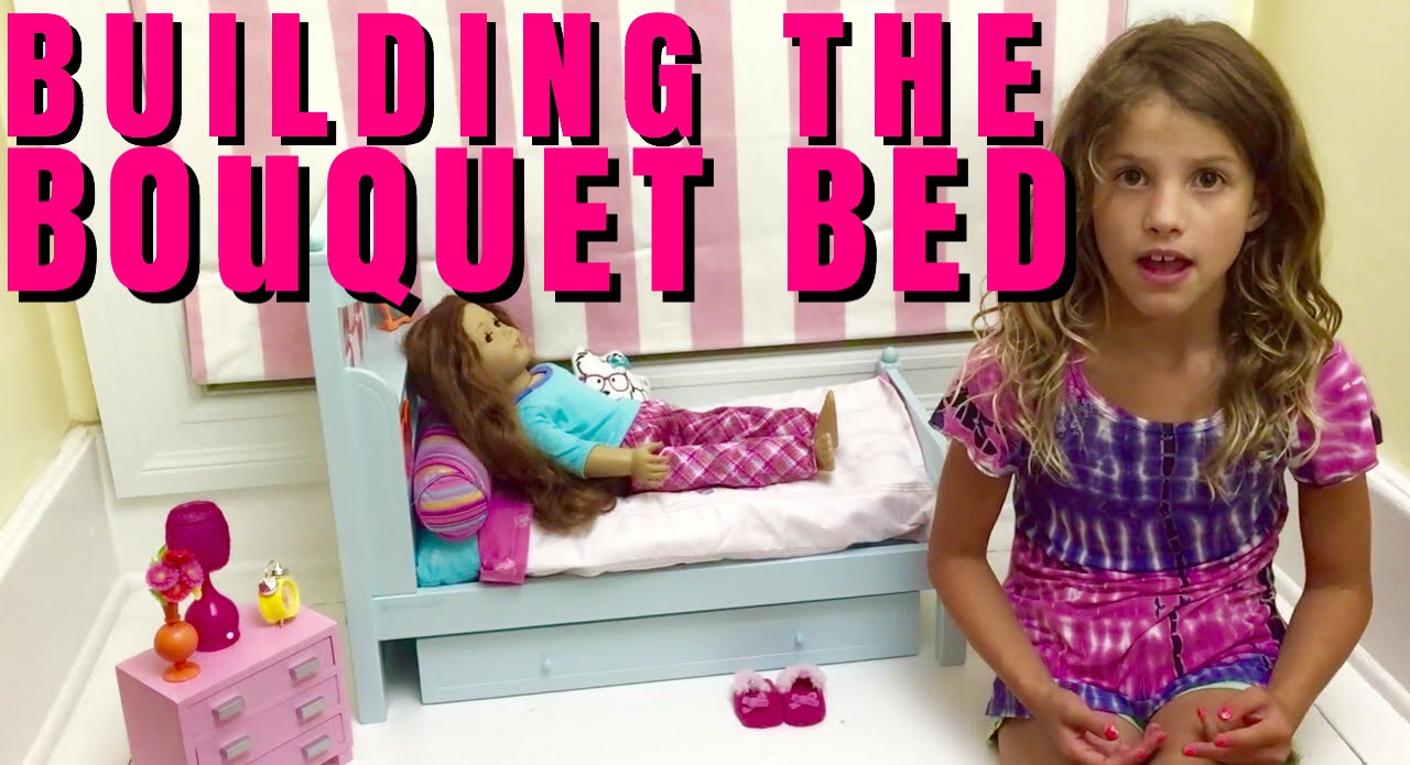How To Make American Girl Mckenna Bed