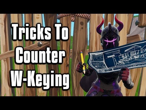Effective Ways To Counter W-Keying & Getting Pressured! - Fortnite Battle Royale