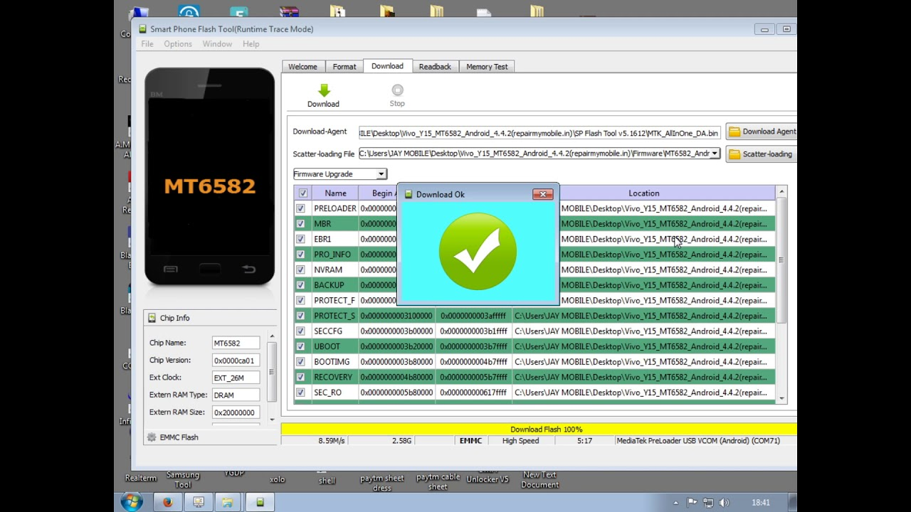 How TO Flash vivo Y15 1000% done by Smart Phone Help