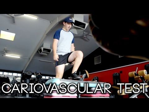 3 MINUTE CARDIOVASCULAR FITNESS TEST!!!