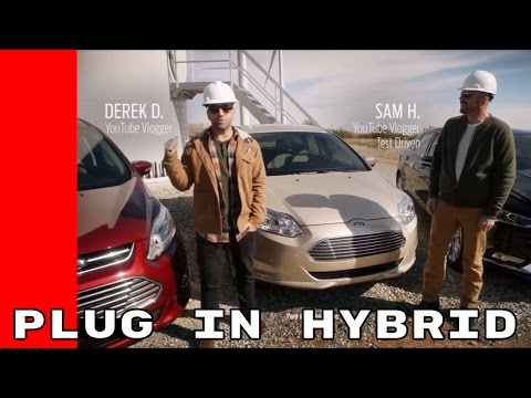 2017 Ford Electric Vehicle Plug in Hybrid Fusion, C Max, Focus Test
