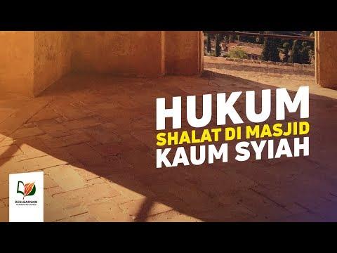 Video : Hukum Solat Di Masjid Syiah
