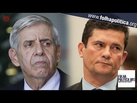 Gal. Heleno e Moro rebatem ataque do grupo Globo à nora de Bolsonaro: 'exemplo...