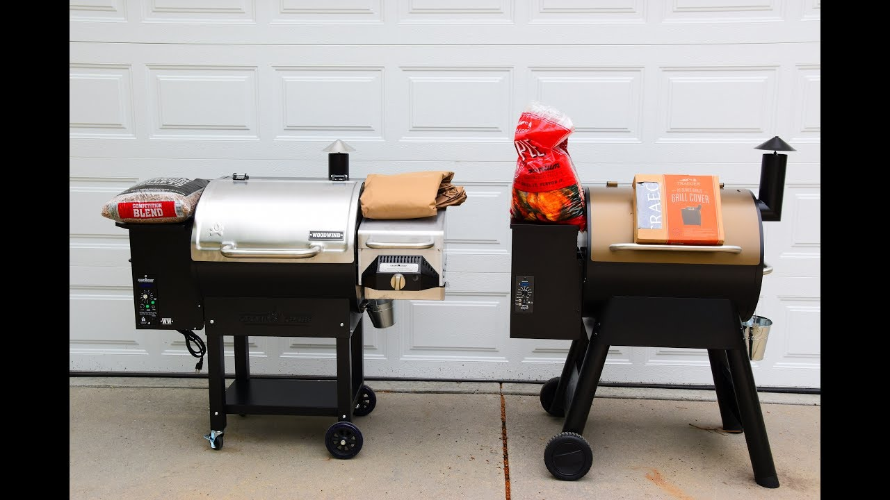 traeger pro series 22 vs camp chef woodwind grill preview - Traeger Grill Reviews