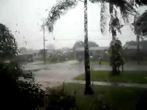 Category 1 Hurricane Damage