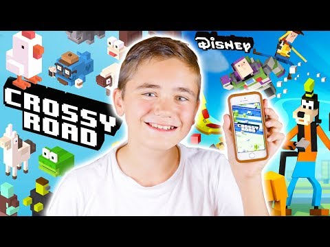 MA PREMIÈRE VIDÉO GAMING (Crossy Road & Crossy Road Disney) - Néo The One