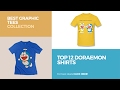 Top 12 Doraemon Shirts // Best Graphic Tees Collection