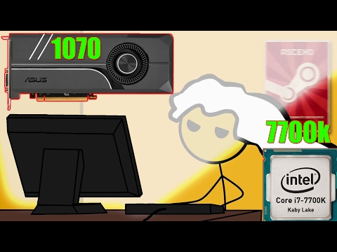 What It Feels To Get I7 7700k & 1070
