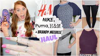 HERBST HAUL 2014 mit H&M, BRANDY MELVILLE, SPORTSACHEN: NIKE + REEBOK Thumbnail