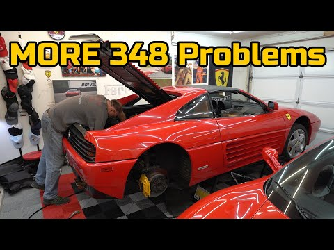The Ferrari 348 has another ANNOYING PROBLEM, can we fix it?