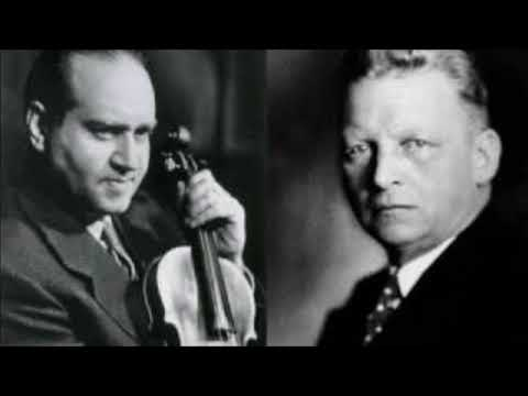 "Beethoven ""Violin Concerto"" David Oistrakh/Hermann Abendroth"